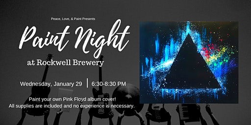 Paint Night at Rockwell Brewery