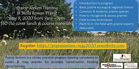 Prairie Seekers Training - September 26, 2020 tickets