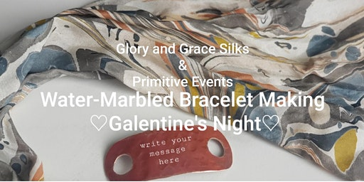Galentine's Night Water-Marbled Bracelet Making