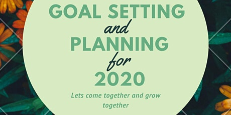 Growshop: Goal Setting & Planning tickets