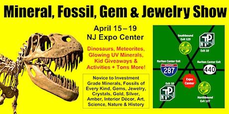 NJ Mineral, Fossil, Gem & Jewelry Show tickets