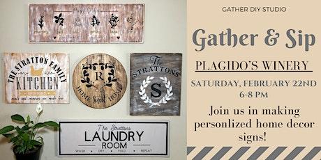 Gather & Sip tickets