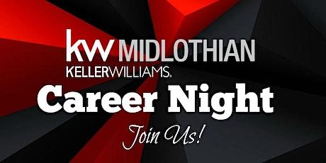 July, 2020 Real Estate - Career Night | Keller Williams Midlothian tickets