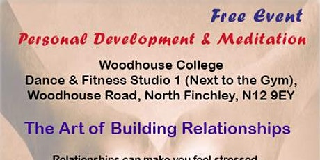 The Art of Building Relationships tickets