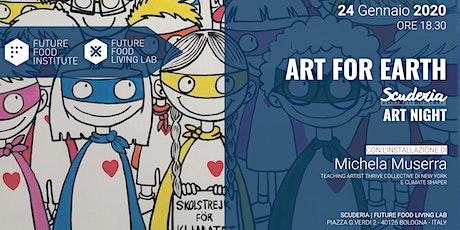 Art for Earth: Scuderia Art Night biglietti