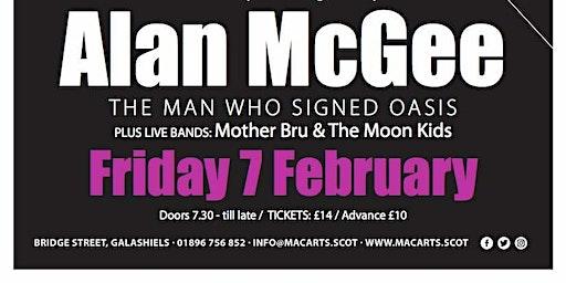 Alan McGee + Mother Bru // The Moon Kids
