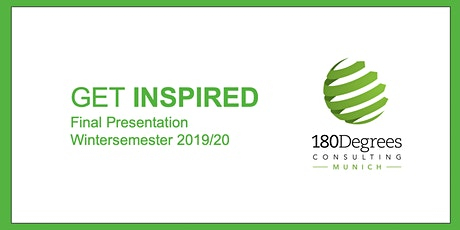 Get Inspired, 180 DC Final Presentation tickets