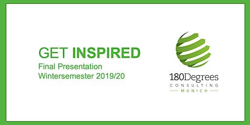 Get Inspired, 180 DC Final Presentation