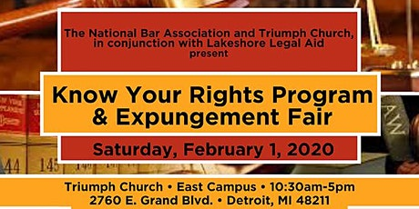 Triumph's Know Your Rights + Expungement Fair tickets