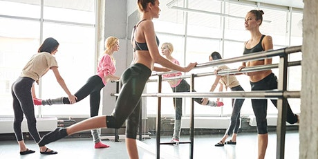 Ballet Fusion - Adult ballet fitness class - Victoria (Wednesday 5pm) tickets