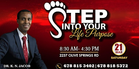 Step into Life Purpose with Dr. K. N. Jacob tickets