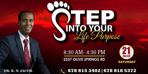 Step into Life Purpose with Dr. K. N. Jacob