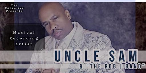 R&B superstar Uncle Sam at St James Live ATL
