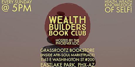Weatlh Builders Book Club tickets