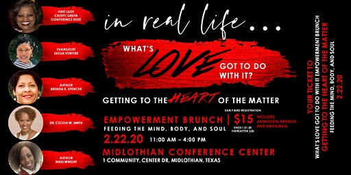 What's Love Got To Do With It Empowerment Brunch