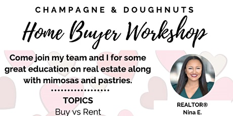 Champagne & Doughnuts | Home Buyer Workshop tickets