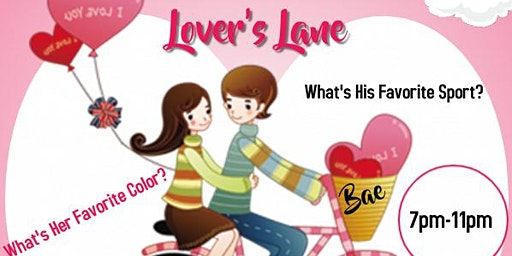 Lovers Lane Valentine's Day Bae Day