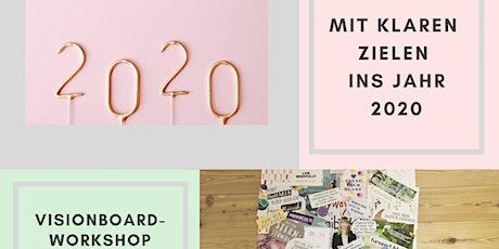 Workshop: Visionboard - erreiche dein Ziele und Wünsche in 2020 Tickets