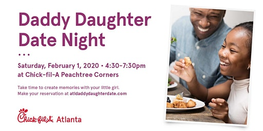 Daddy Daughter Date Night 2020 - Peachtree Corners