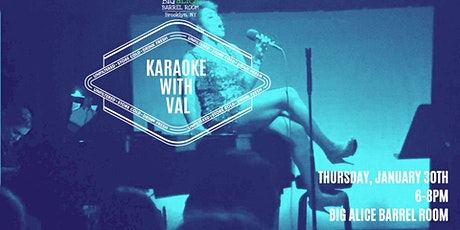 Karaoke With Val! tickets