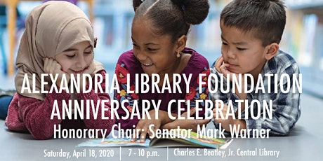 Alexandria Library Celebration tickets