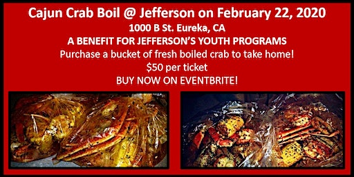 Cajun Crab Boil @ Jefferson - Youth Programs Benefit - February 22, 2020