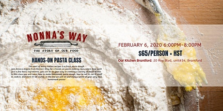 Hands-On Pasta Class tickets