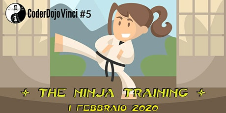 CoderDojo Vinci #5 - The Ninja Training biglietti
