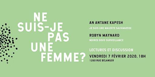 Lancement de NE SUIS-JE PAS UNE FEMME ?: Lire Maynard x Kapesch