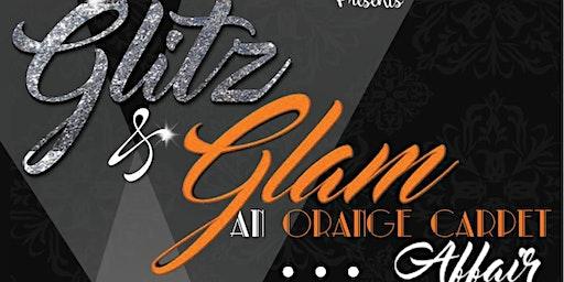Glitz and Glam an Orange Carpet Affair