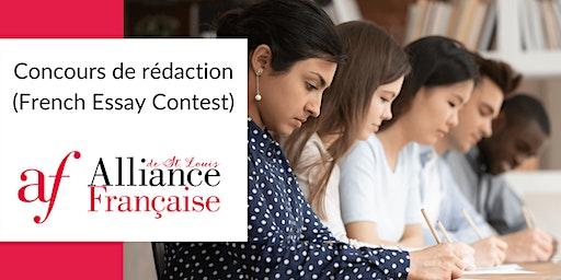 Concours de rédaction (French Essay Contest)