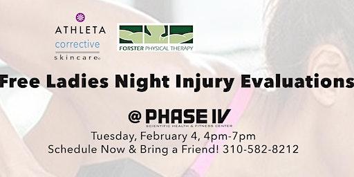 Free Injury Evaluations with Rachel Suson, PT DPT