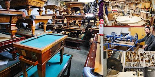 Following the Journey of a Pool Table @ Blatt Billiards Factory