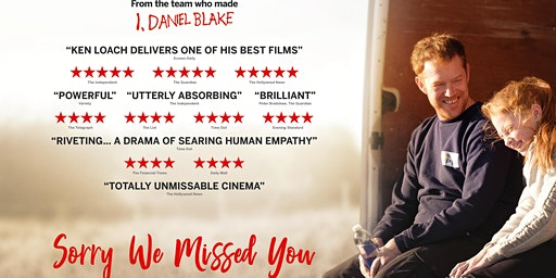 Bute Street Festival Presents: Ken Loach 'Sorry We Missed You'