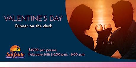 Valentine's Day Dinner on the Deck tickets