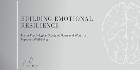 Lunch & Learn - Building Emotional Resilience tickets