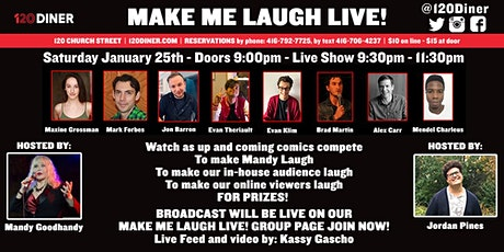 Make Me Laugh Live! tickets