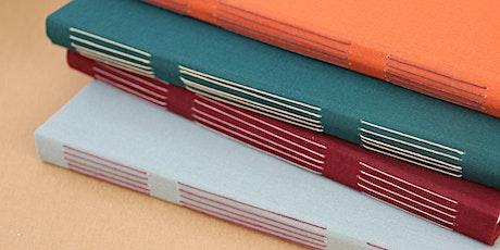 Bookbinding Workshop:  Exposed spine bindings tickets