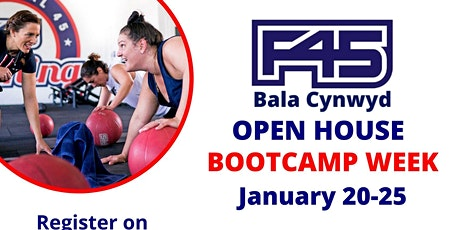 F45 Bala Cynwyd's Open House - BOOTCAMP WEEK tickets
