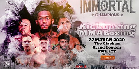 Immortal Champions tickets