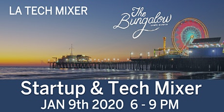 LA Tech Mixer 2020 powered by Google tickets