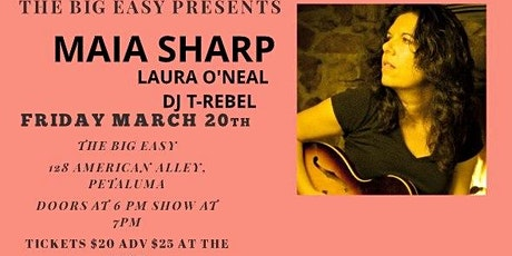 An Evening with Maia Sharp tickets
