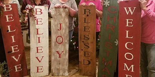 Two Sided Greeting Sign