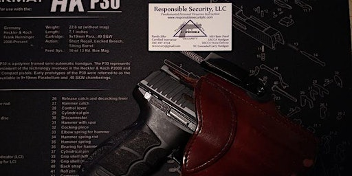NC Concealed Carry Handgun Permit Class - New Bern, NC