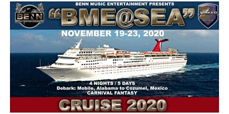 BME AT SEA - Gospel Cruise and Industry Showcase boletos