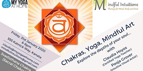 Chakra, Yoga, Mindful Art Workshop 2 - Sacral Chakra tickets