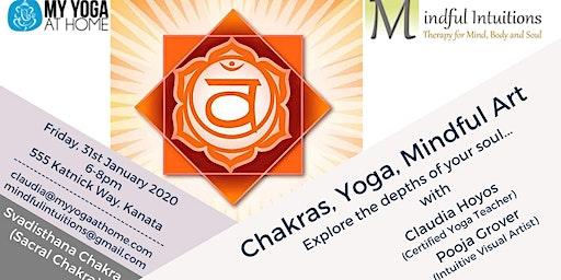Chakra, Yoga, Mindful Art Workshop 2 - Sacral Chakra