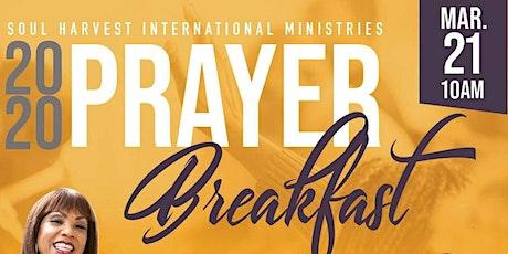 Soul Harvest Prayer Breakfast 2020 tickets