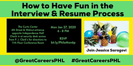 How to Have Fun in the Interview and Job Search Process - Jessica Saragovi tickets