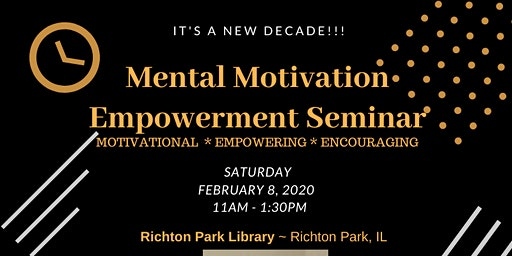 Mental Motivation Empowerment Seminar
